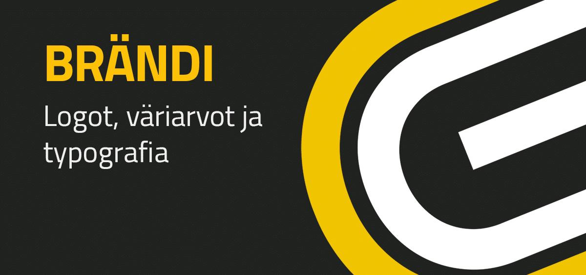 BRÄNDI - Logot, väriarvot ja typografia